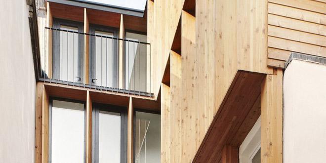surélévation fenetres maison architecte