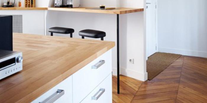renovation cuisine bois