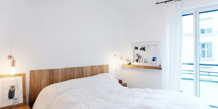 chambre renovation appartement architecture