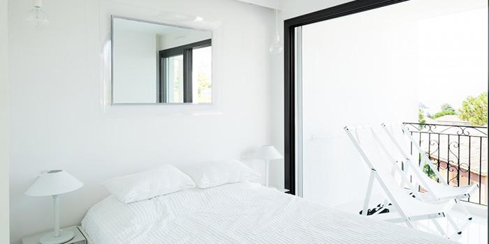 chambre blanc lumineux renovation