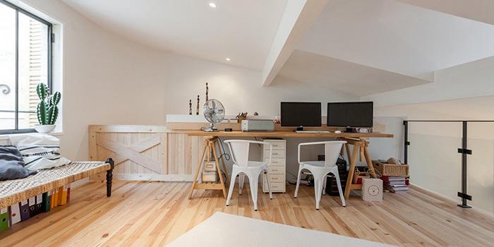 chambre bureau renovation combles