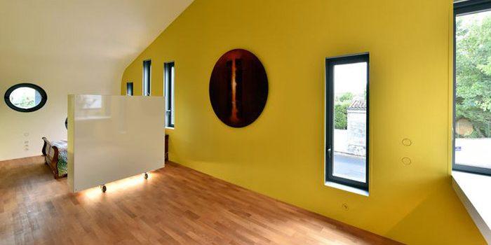 chambre lumineux maison architecte