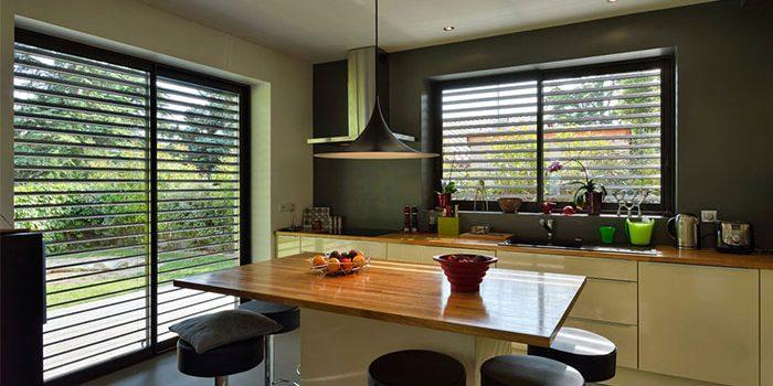 cuisine americaine moderne architecte