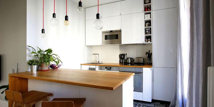 cuisine lumineux renovation appartement