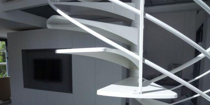 escalier escargot design architecture