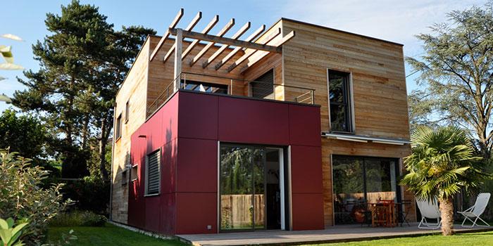 surélévation bois maison moderne architecture