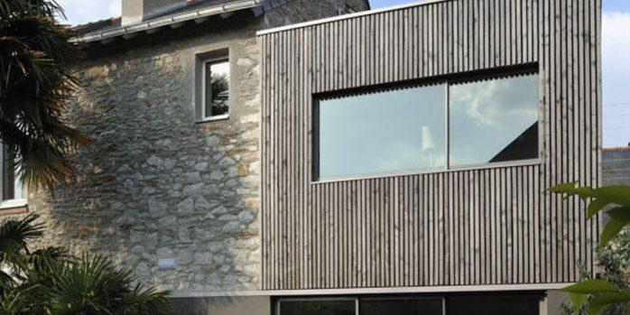 surélévation bois pierre architecte