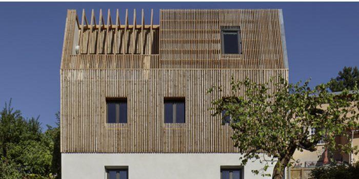 bois surélévation maison architecte