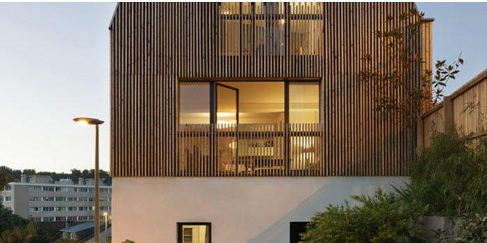 étage surélévation maison architecte