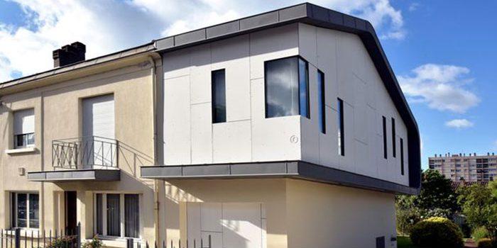 surélévation pavillon architecte