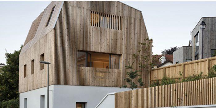 surélévation maison bois architecte