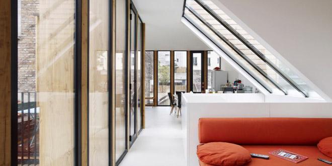 salon lumineux maison architecte