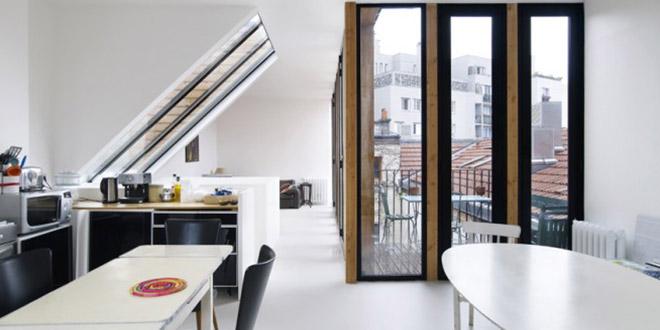 salon lumineux maison héliotrope architecte
