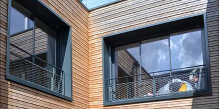 fenetres surélévation bois architecte