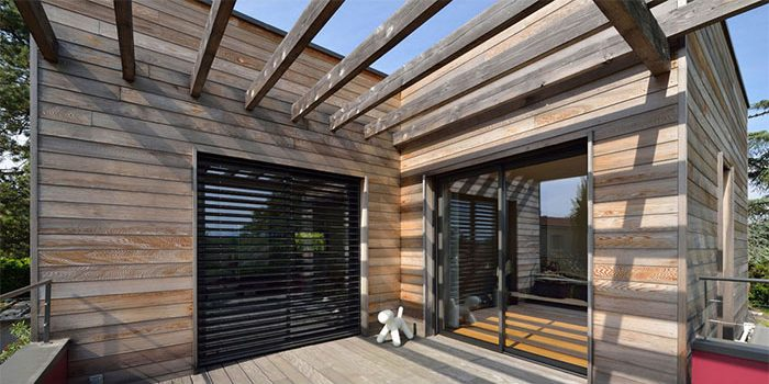 terrasse bois maison moderne architecte