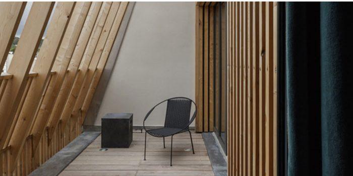 terrasse poutre bois architecte