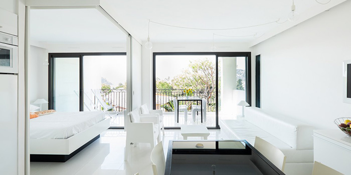 sejour blanc renovation architecture