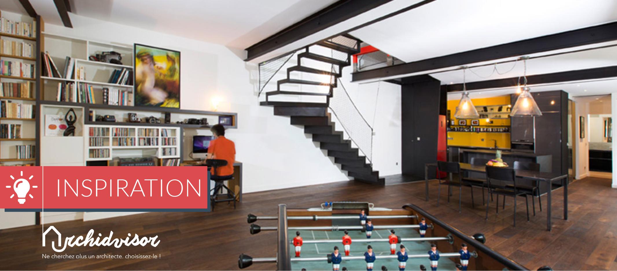 des b timents atypiques transform s en maisons et. Black Bedroom Furniture Sets. Home Design Ideas