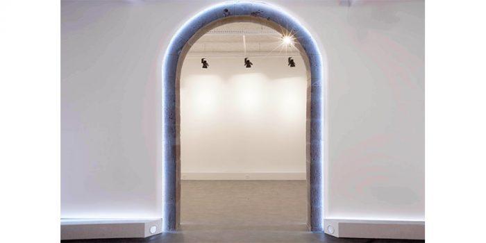 arche lumineuse musee architecte