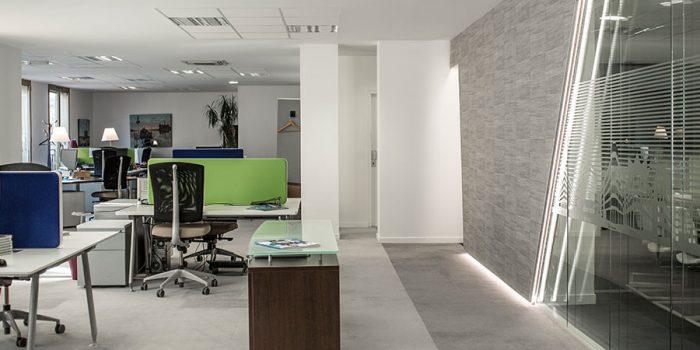 renovation bureaux travail architecte