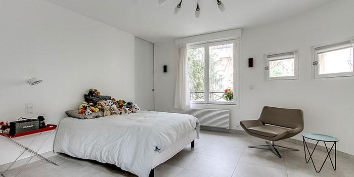 chambre blanc maison renovation