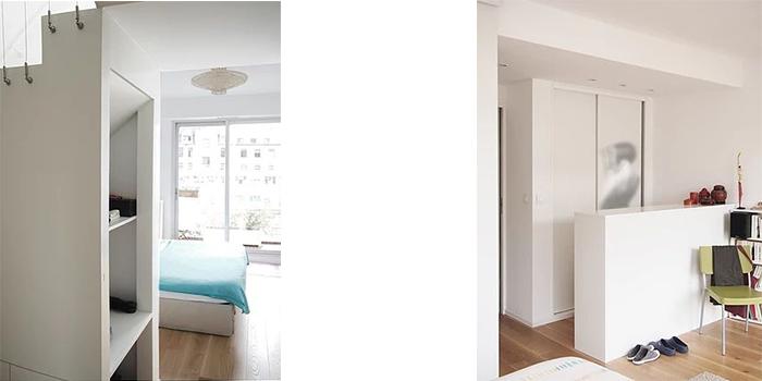 chambre renovation duplex architecte