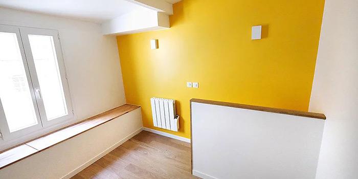 chambre renovation duplex architecture
