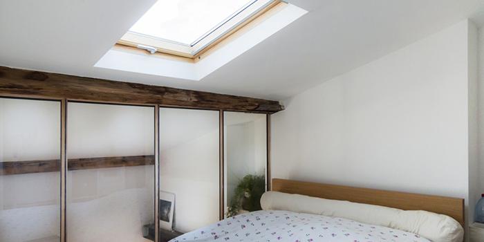 chambre fenetre toit duplex