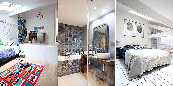 chambre salle de bain architecte
