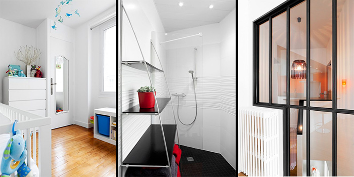 chambre salle de bain duplex
