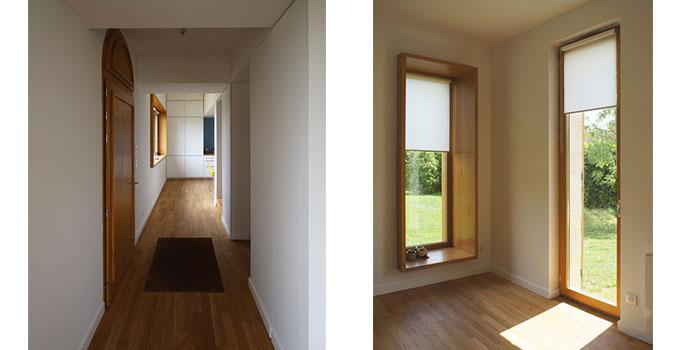 couloir entree maison architecture