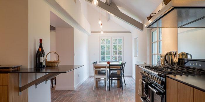 cuisine ouverte renovation architecte