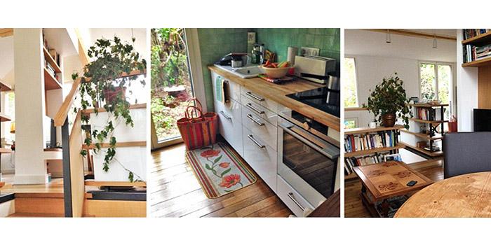 cuisine intérieur maison architecte