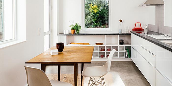 construction cuisine maison moderne