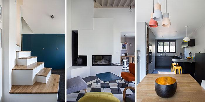 salon cheminée renovation maison