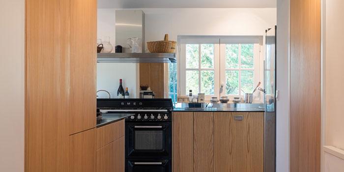 cuisine ouverte maison renovée