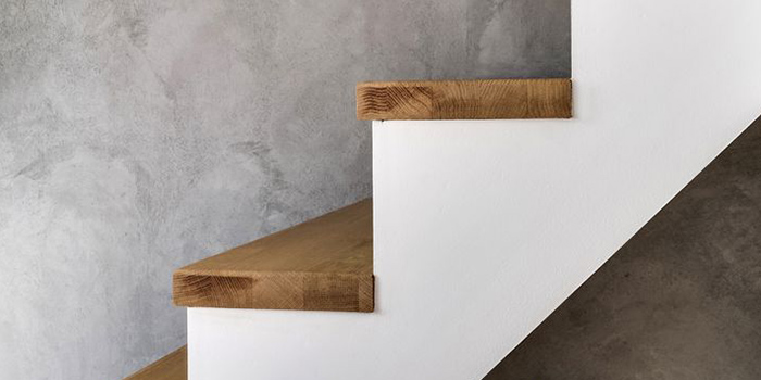 zoom escalier duplex bois