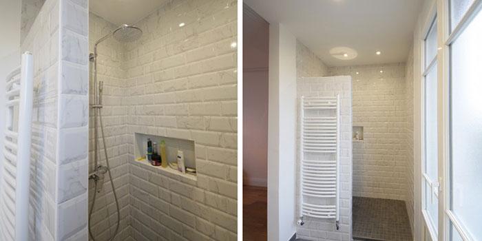 douche salle d'eau architecte