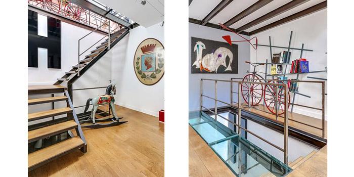 palier escalier transformation maison