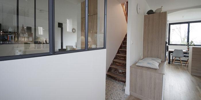 escalier verriere sejour architecte