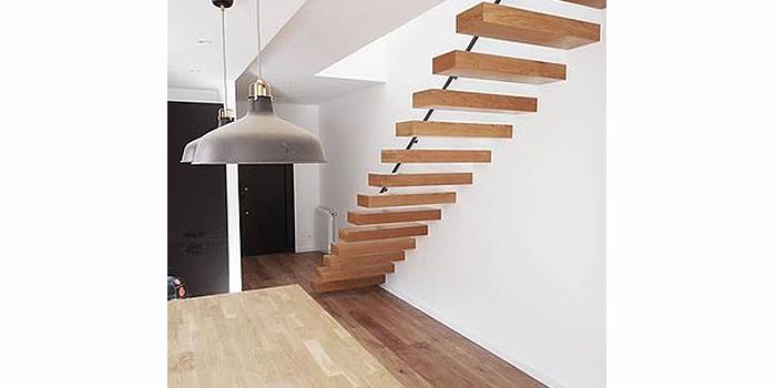 escalier bois construction architecte