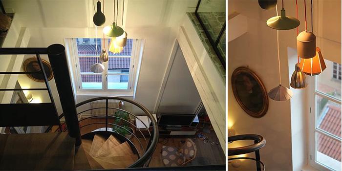 escalier escargot duplex architecte
