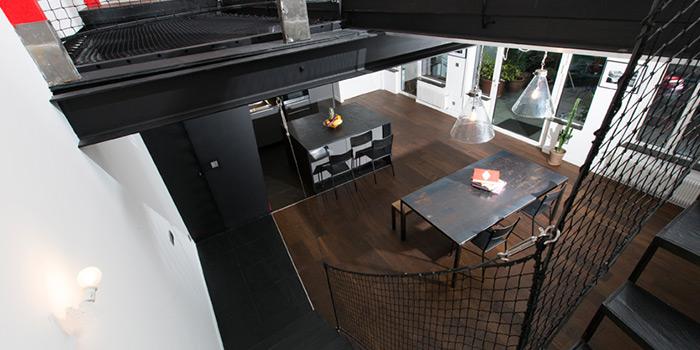sejour escalier rehabilitation architecte