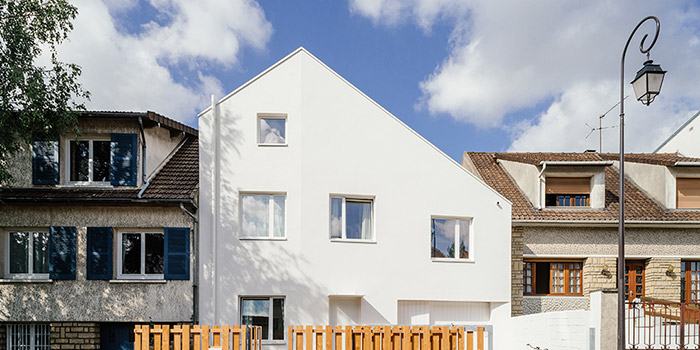 construction contemporaine facade architecte