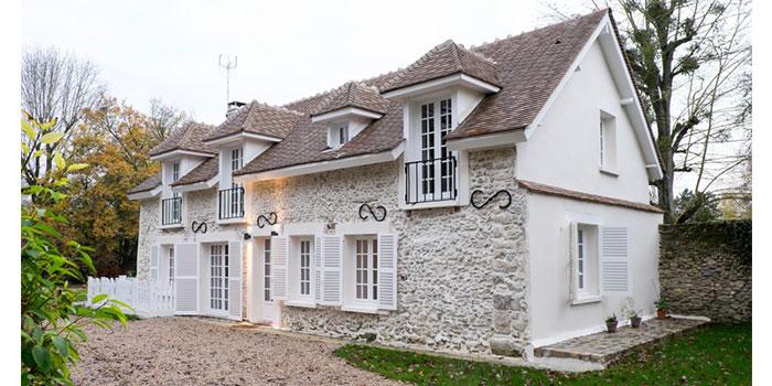 facade maison pierre architecte