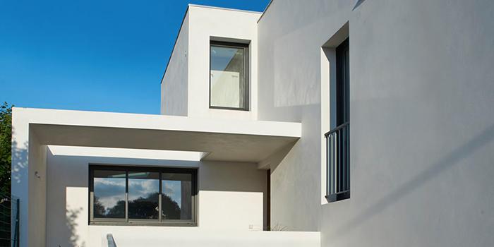 construction villa architecte facade