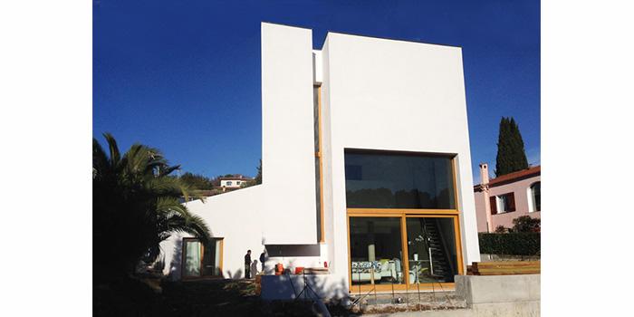 facade maison moderne architecte