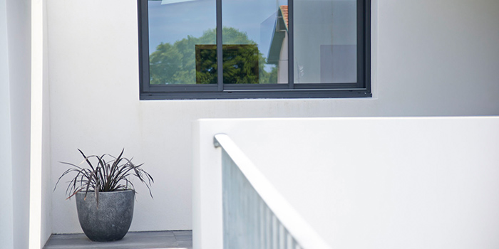 villa moderne fenetre blanc