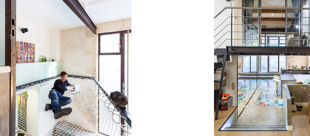 hamac lumiere renovation appartement