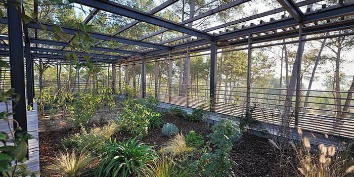 jardin veranda construction architecte